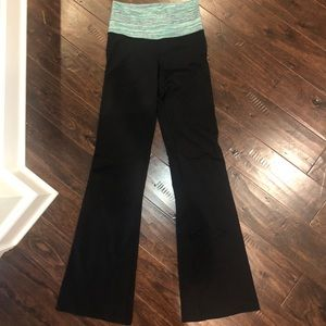 lululemon athletica Pants - Lulu lemon flare leggings